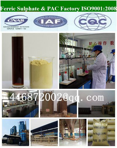 Ferric Sulphate The Factory In China