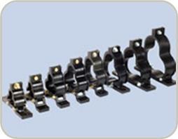 Fiber Glass Trefoil Clamps Cable Cleats