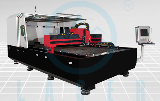 Fiber Laser Cutting Machine Hs M3015a Used American Hand