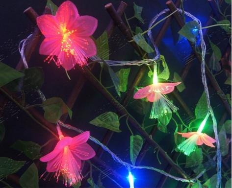 Fiber Light Chirstmas Decorative Lights