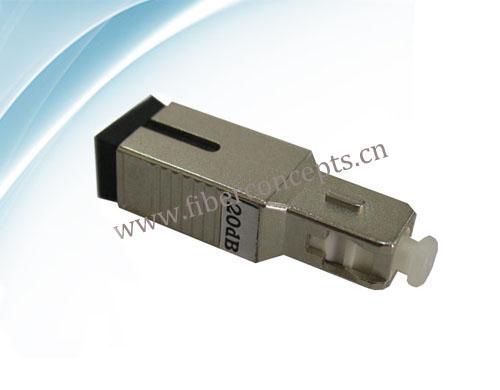 Fiber Optic Attenuator Sc Plug Type Fixed Attenator