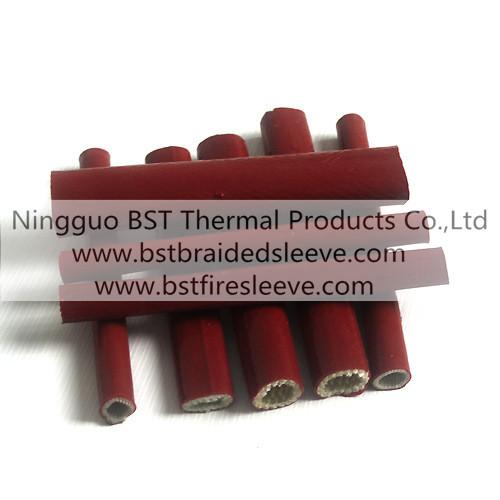 Fiberglass Silicone Fire Resistant Sleeve