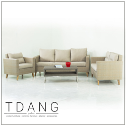 Fiji 4 Piece Sectional Seating Group With Cushions Code Td1013