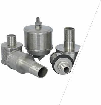 Filter Nozzle Metal Construction Media