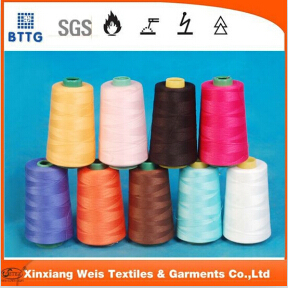 Fire Retardanrt Aramid Sewing Thread For Fr Uniform