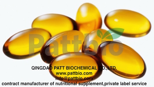 Fish Oil Softgel 1000mg Oem Contract Manufacture Private Label