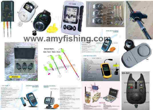 Fishing Alarm Bite Fish Finder Carp Tackle Wireless