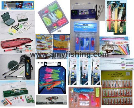 Fishing Combo Set Tackle Bait Pen Rod Lure Box