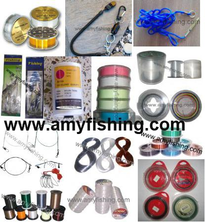 Fishing Line Braided Fluor Carbon Wire Connect Trimmer Monofilament Competition Fising Stringer Rope