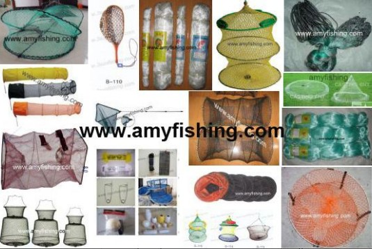 Fishing Net Landing Crab Keeping Shrimp Pe Nylon Multifilament Double Knet Polyester Twines