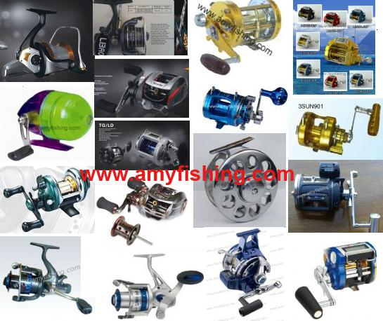 Fishing Reel Big Game Trolling Spinning Baitcasting Spincasting Fly Jigging Saltwater Carp Automatic