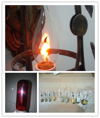 Flame Lamp Candle Decorative