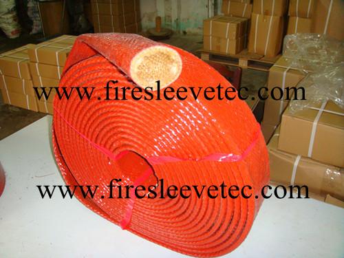 Flame Retardant Braided Fiberglass Fire Sleeving