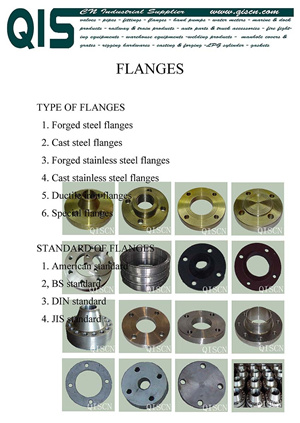 Flange Cast Forged Or Special Flanges