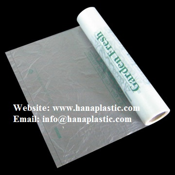 Flat Bag On Roll Type Material Hdpe Ldpe Adding Oxo Biodegradable D2w Epi And