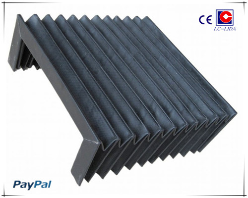 Flexible Bellow Cover For Cnc Machine