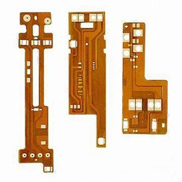 Flexible Pcbs With Tin Lead Nickel And Gold Plating
