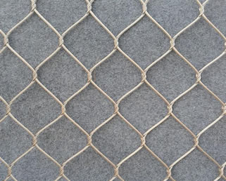 Flexible Stainless Steel Cable Mesh Knotted Type