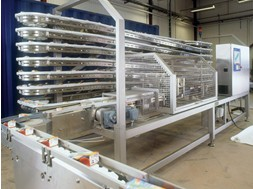Flexlink Stainless Steel Conveyor Xlx 63mm
