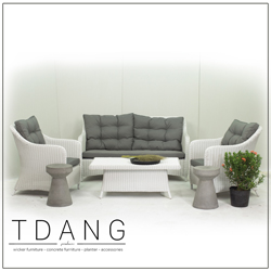 Flourish 4 Piece Seating Group With Cushions Code Td1011