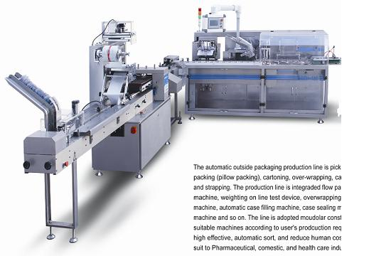 Flow Packing Outsize Packaging Line