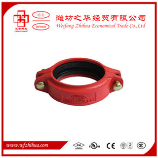 Fm Ul Approval Ductile Iron Grooved Couplings