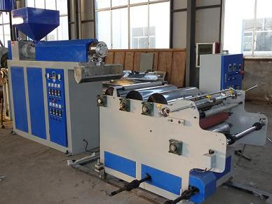 Fm1000 Single Layer Stretch Film Blowing Machine