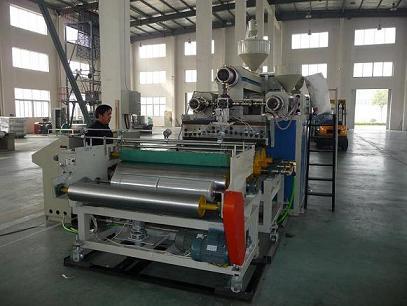 Fm1000 Three Layer Stretch Film Blowing Machine