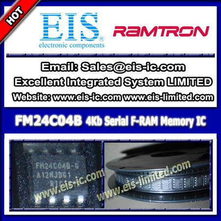 Fm24c04b Ic Fram 4kbit Serial I2c 1mhz Soic 8 Ramtron