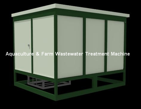 Fmet Aquaculture Farm Wastewater Treatment Machine