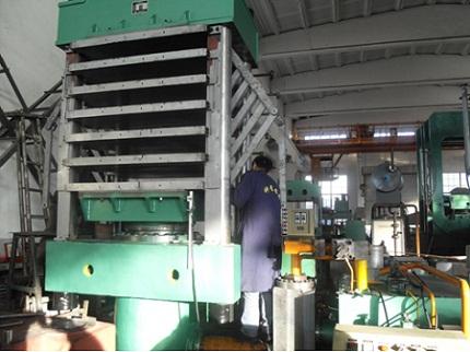 Foaming Vulcanizing Press