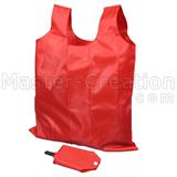 Foldable Shopping Bag Market Handbag Wholesale Poly Advertisement