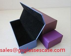 Folding Handmade Glasses Case High Quality Pu Eyeglasses Sunglasses
