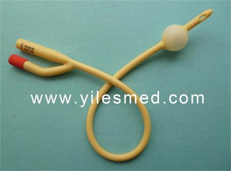 Foley Catheter Latex Siliconized Urinary Care