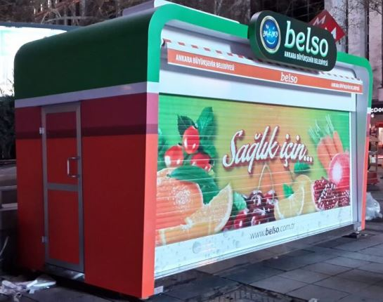 Food Kiosk For Indoor Outdoor