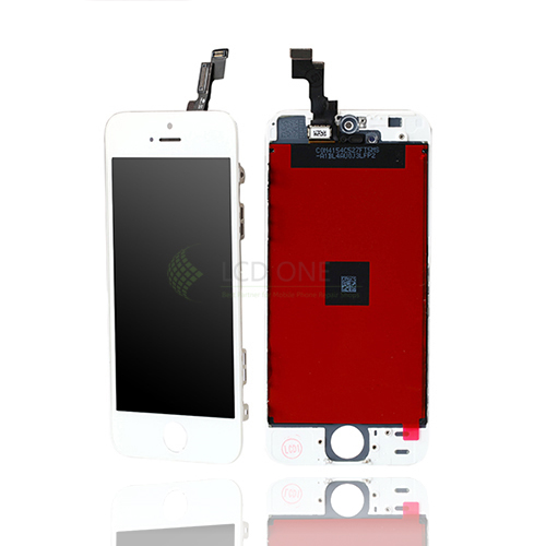 For Apple Iphone 5 Lcd Screen Replacement And Digitizer Assembly With Frame
