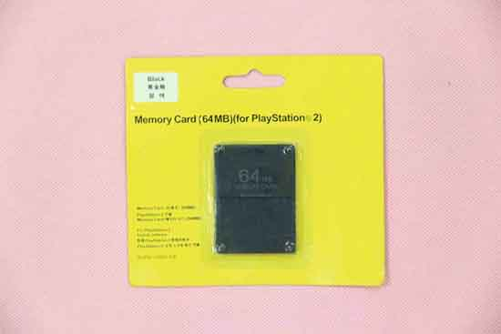For Ps2 Memory Card 64mb