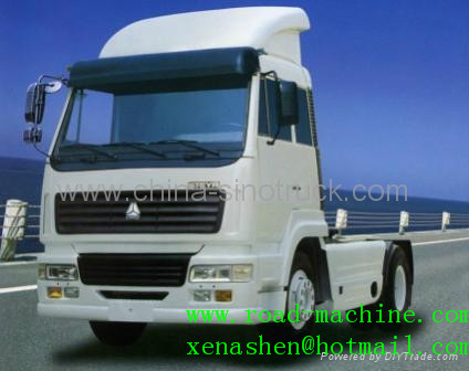 For Sale Sinotruk Steyr King Tractor Truck 4x2 371hp Euroii
