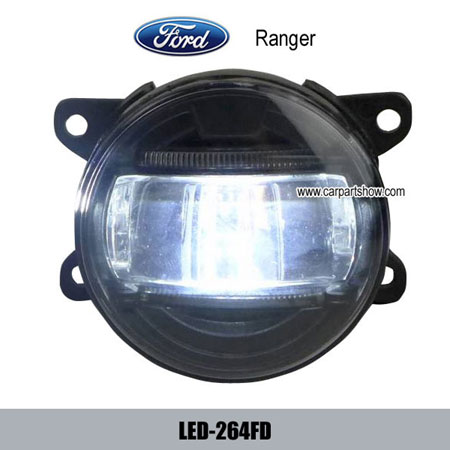 Ford Ranger Front Fog Lamp Assembly Led Daytime Running Lights Drl 264fd