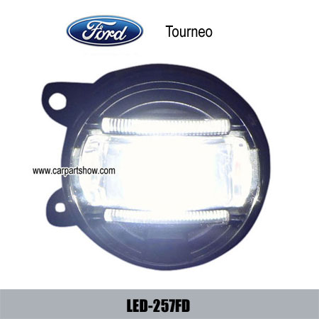 Ford Tourneo Front Fog Lamp Assembly Led Daytime Running Lights Drl 257fd