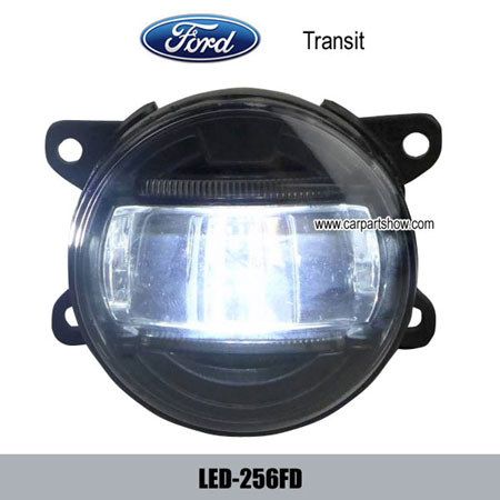 Ford Transit Front Fog Lamp Assembly Led Daytime Running Lights Drl 256fd