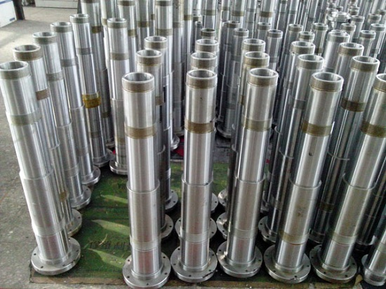 Forged Shaft Spindle Mahine Tool Main Axis
