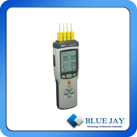 Four Channel Max Hold And Data Temperature Logger
