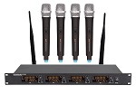 Four Channel Wireless Microphone