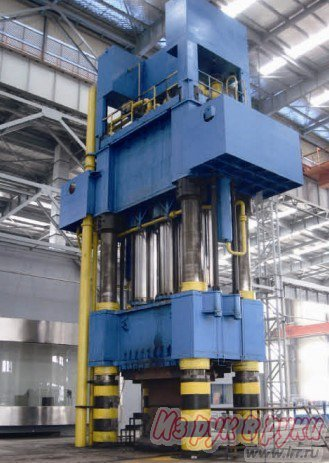 Four Column Hydraulic Press Quanyue China