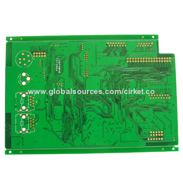 Four Layer Pcb With 2oz Copper Thickness Immersion Gold Surface Finish And Fr4 Base Material