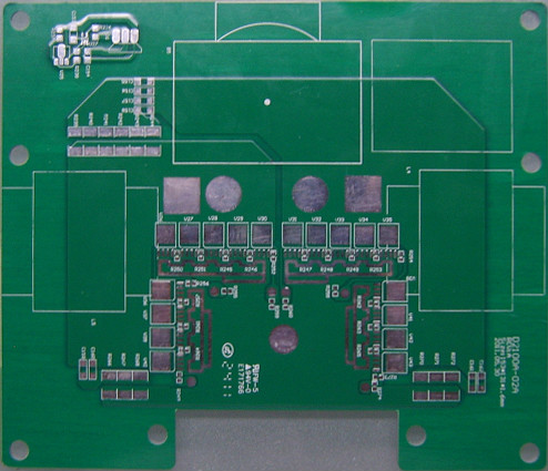 Fr4 Circuit Board With 3oz Copper Thickness For Led Power Driver Pcb
