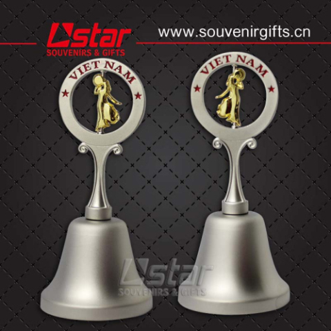 Free Sample And Design Custom Metal Dinner Bell