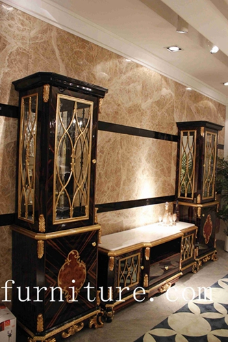 French Antique Cabinet China Luxury Living Room Decoration Tp 025a