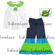 Frog Smock Sets With Cute Pattern Dr 1541